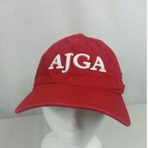 New Era AJGA Golf Strapback Hat Cap Red